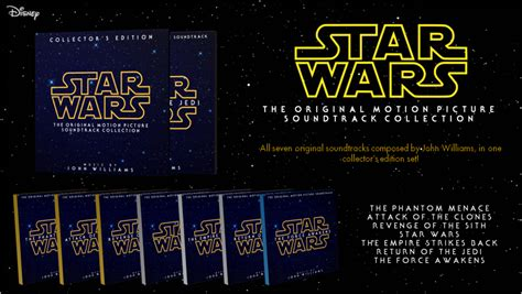 Star Wars: Motion Picture Soundtrack Collection by ...