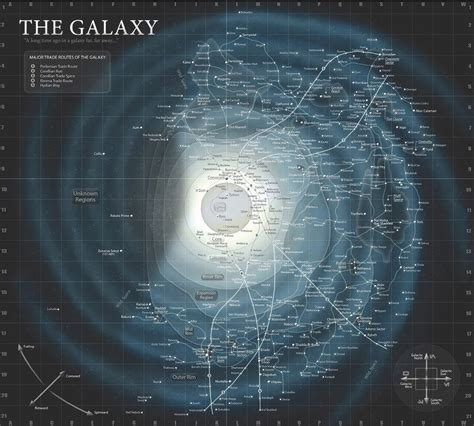 Star Wars – Le Réveil de la Force : La carte de la galaxie ...