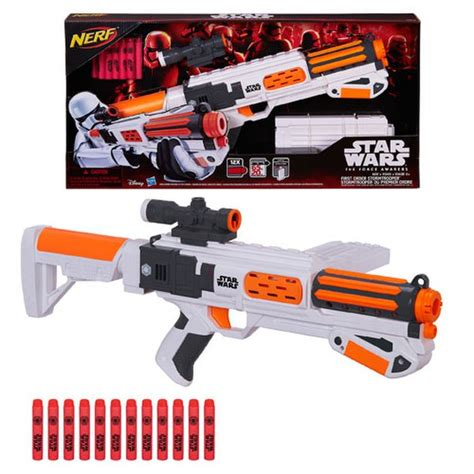 Star Wars The Force Awakens First Order Stormtrooper Nerf ...