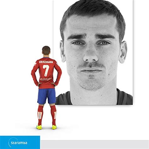 Staramba Antoine Griezmann Figura 3d   Atlético De Madrid ...