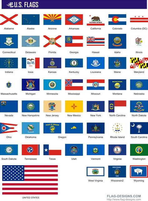State Flags | 50 U.S. Flags   vector clipart, vector ...