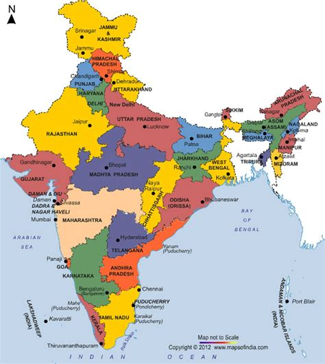 States Of India | Current affairs | UPSC 2018