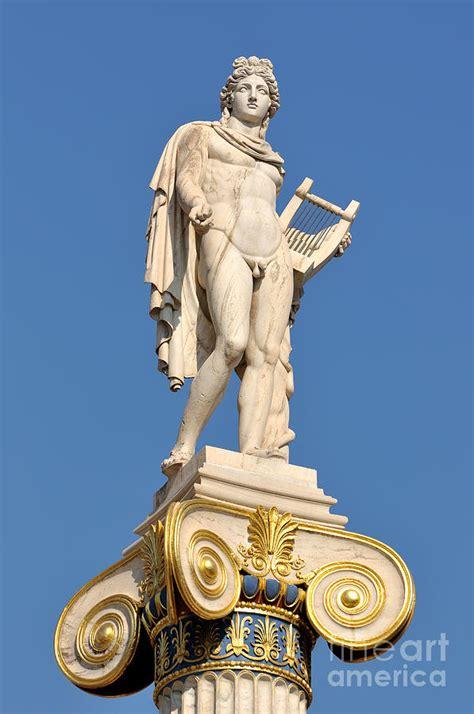 Statue Of Apollo Photograph by George Atsametakis