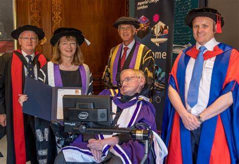 Stephen Hawking awarded Imperial College London's highest ...