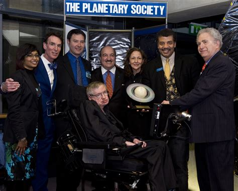 Stephen Hawking Receiving the 2010 Cosmos Award for ...
