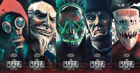 'The Purge 3: Election Year' campaigns with new posters ...