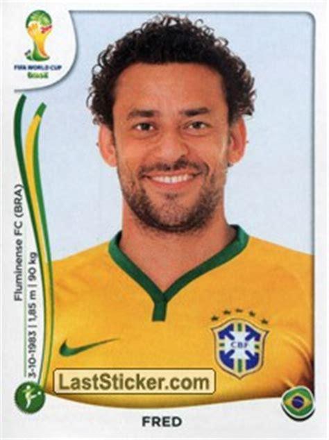 Sticker 50: Fred   Panini FIFA World Cup Brazil 2014 ...