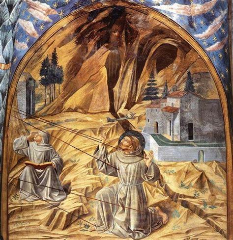 Stigmatization of St. Francis, 1452   Benozzo Gozzoli ...