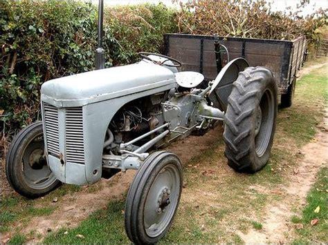 Still working little grey fergie | Massey Ferguson TEA 20 ...