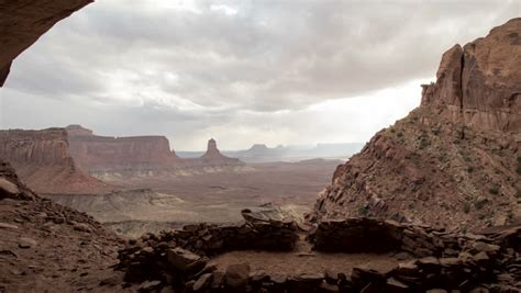 Stock Video Clip of Anasazi Indian Ruins time-lapse at ...