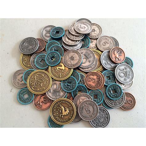 STONEMAIER GAMES - Monedas de metal (Scythe)