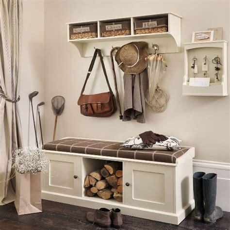 Storage bench and shelf from The Dormy House | Hallway ...