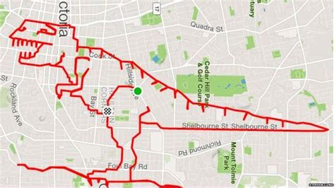 Strava artist draws pictures with his bike and GPS - BBC ...