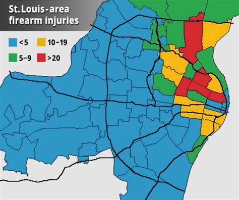 Study Examines Firearm Injuries and Deaths Among St. Louis ...