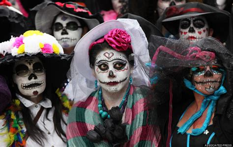 Stunning Photos Of Mexico's 'Day Of The Dead' Record ...