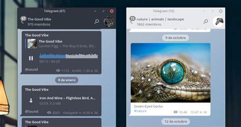 Style Telegram for Linux with Arc Theme | Ubuntu Next