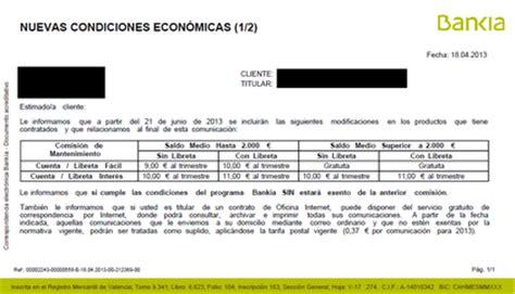Subidón general de Comisiones Bankia  4/29    Rankia