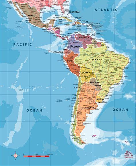 Sudamérica político - Mapas murales personalizados ...