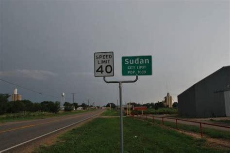 Sudan, Texas, Population Sign - PhotoShare Galleries of ...