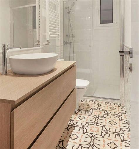 Suelo / Mueble / Lavabo redondo con espacio en encimera ...