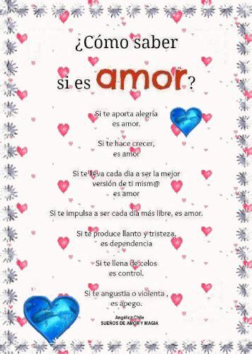 SUEÑOS DE AMOR Y MAGIA: Como saber si es Amor?