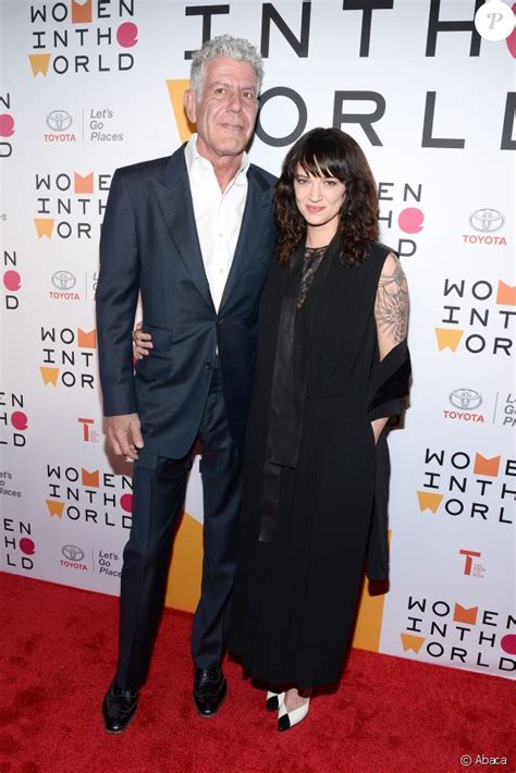Suicide d Anthony Bourdain : Sa compagne Asia Argento  n ...