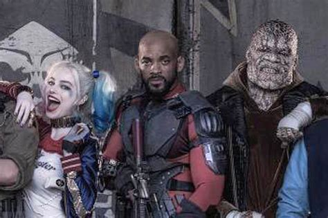 suicide squad full cast will smith, jared leto, margot ...