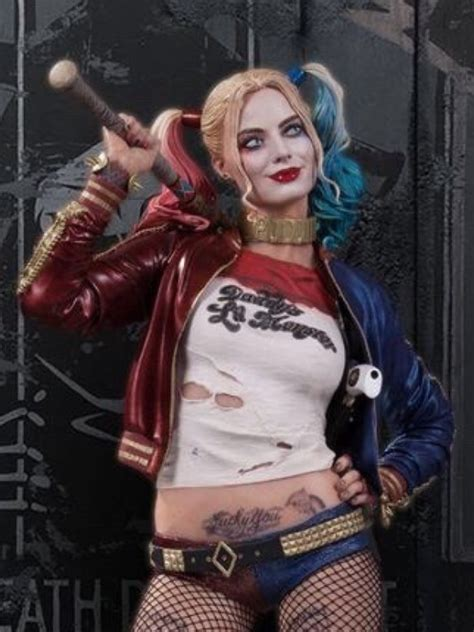 Suicide Squad Harley Quinn Cosplay Jacket   Instylejackets