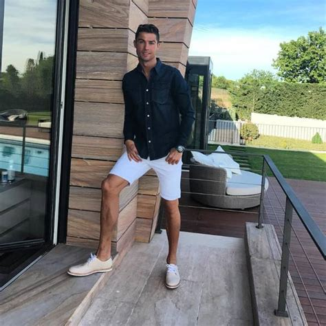 Summer Style from Cristiano Ronaldo's Hottest Instagram ...