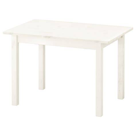SUNDVIK Children's table White 76x50 cm - IKEA