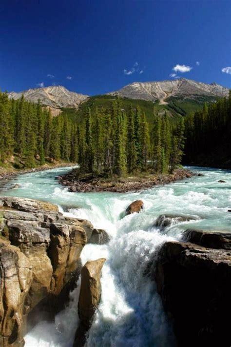 Sunwapta Fall, Jasper National Park, Canada ~ By Xylogen ...