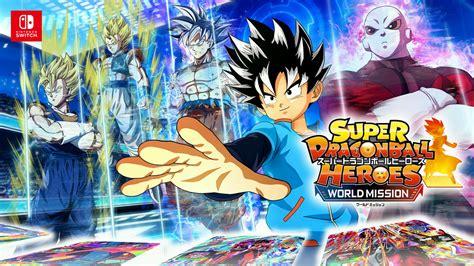 Super Dragon Ball Heroes World Mission : Ouverture du site ...