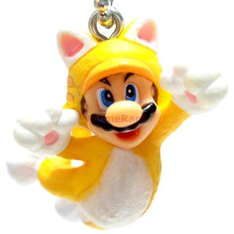 Super Mario 3D World Mascot 1.5  Figure Key Chain Tomy ...