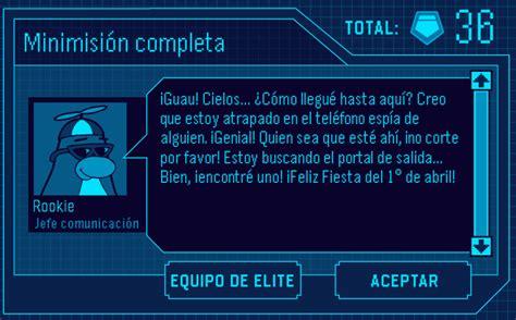SUPER Secretos de Club Penguin: Misión #75 de la EPF