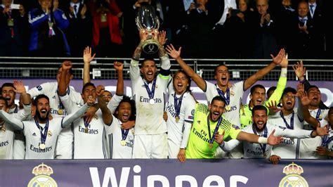 Supercopa de Europa 2017: Fecha, lugar, resultado, equipos ...