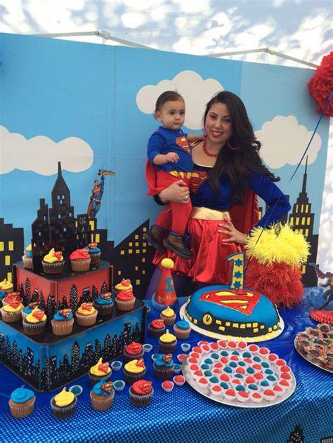 Superman Birthday Party Decoration Ideas | Home Party Ideas