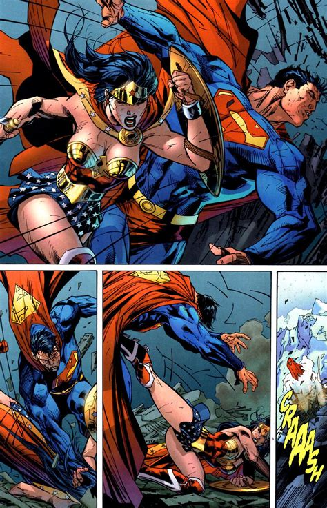 Superman vs Wonder Woman  battle of the sexes    Battles ...