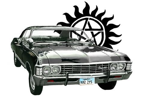 Supernatural Impala by allthingsLauralike on DeviantArt