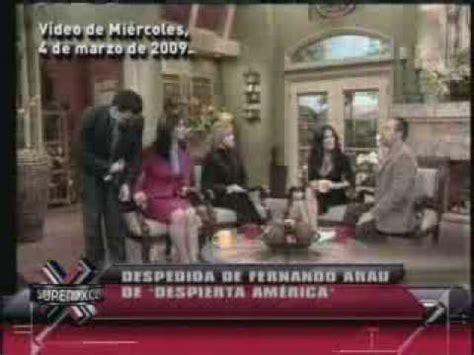 SuperXclusivo 4/13/09   Fernando Arau confirma su despido ...