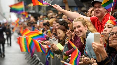 Support the LGBTQ community at this year s Pride Parade in NYC