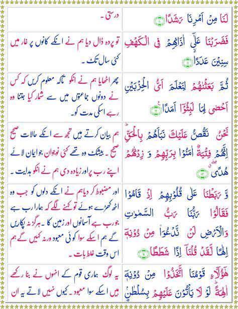 Surah Kahf   Read Or Listen It Online   Quran o Sunnat