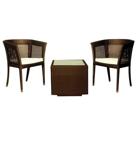 Svelte Andorra Balcony Set  2 Chairs + 1 Centre Table  by ...