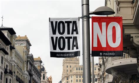 """Vota sí, vota no. Haz historia. Decide Madrid ..."