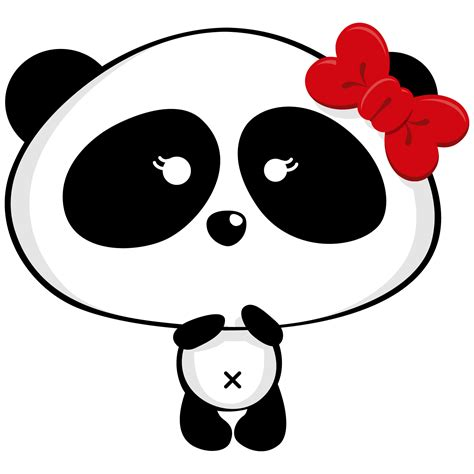 Sweet 16 Quinceanera Panda Clipart. | Oh My Sweet 16!