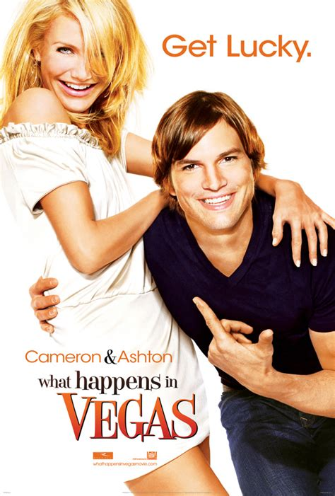 """What Happens In Vegas"" Poster and Trailer with Ashton ..."