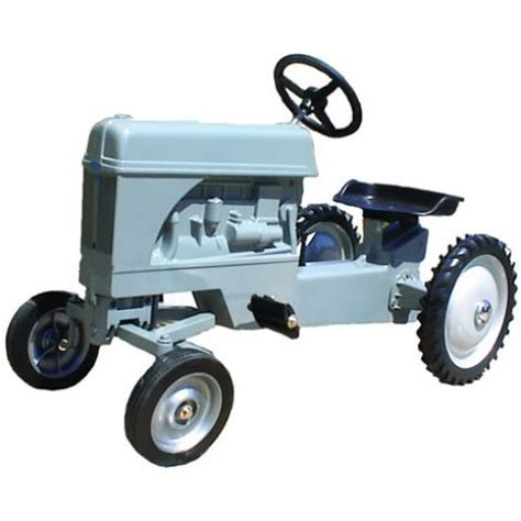 syoT Little Grey Fergie Pedal Tractor Kiddicare.com
