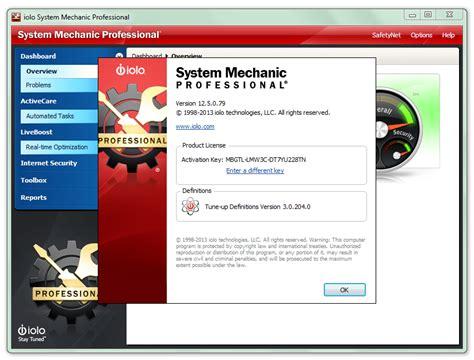 System Mechanic Professional 14 Keygen Crack + Activation