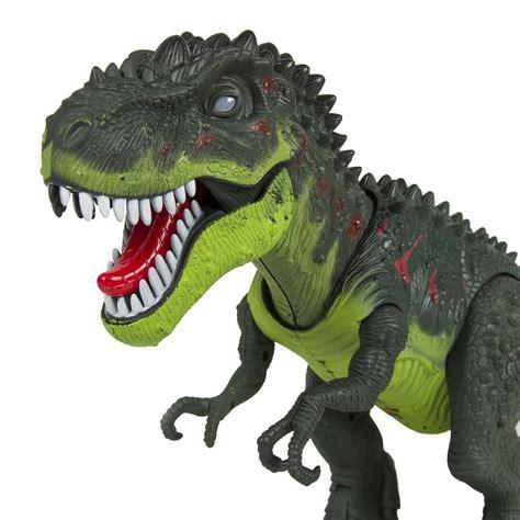 T Rex Dinosaurio con batería dinosaurio Jurásico Era ...