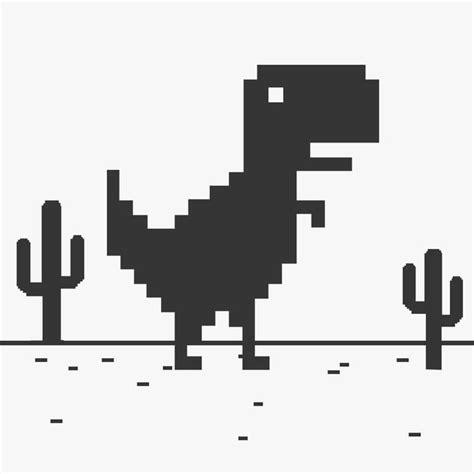 T Rex Steve Widget Web Juego   La línea del dinosaurio en ...