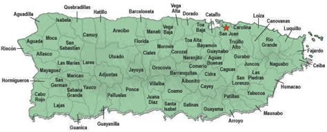 T2 | Municipios de Puerto Rico